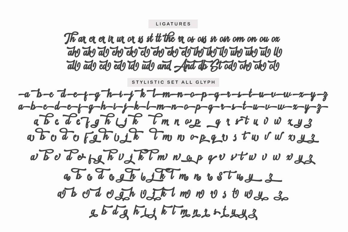 Standbury Script example image 14