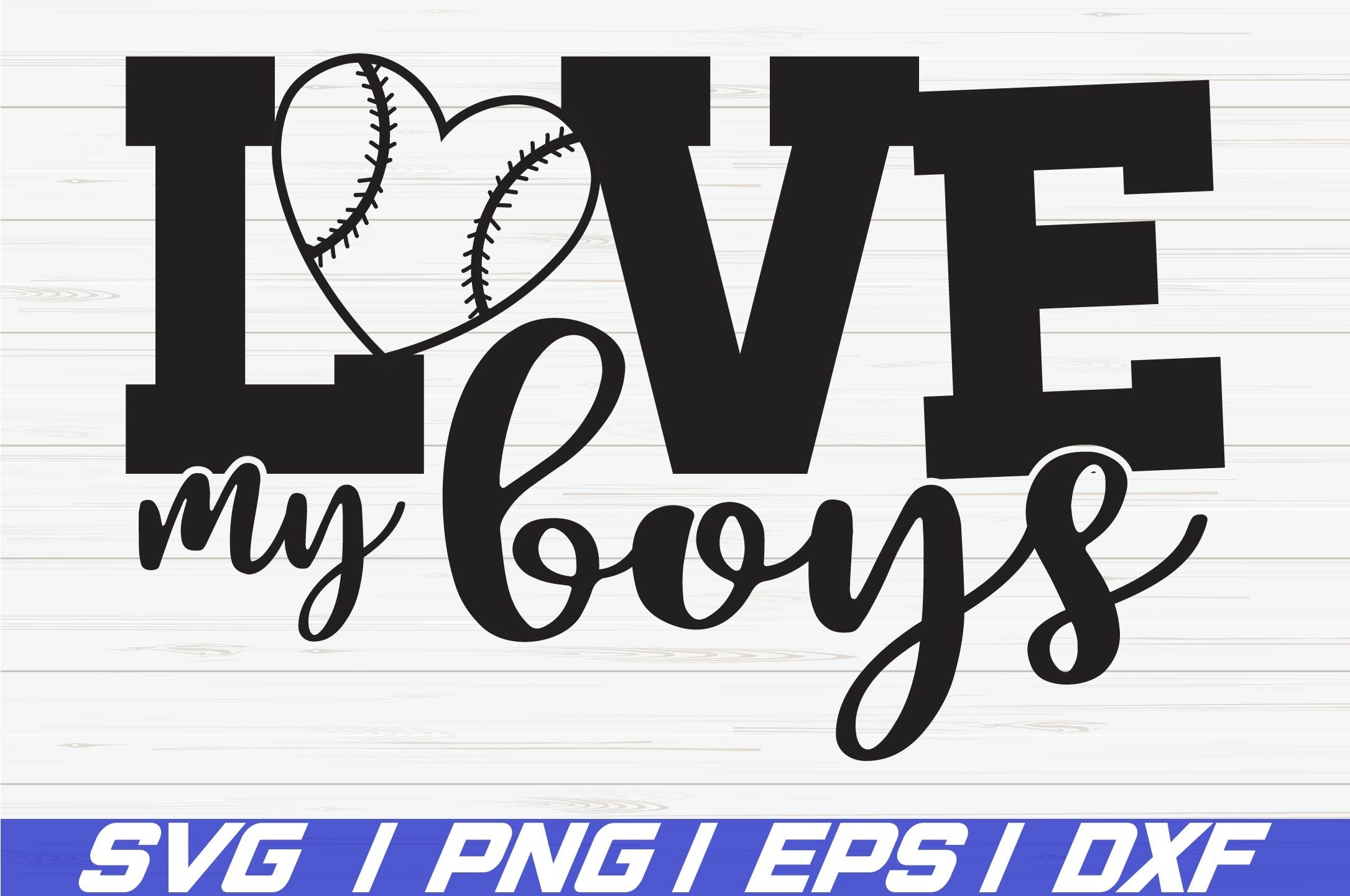 Download Baseball Svg Love My Boys Svg Cut Files Cricut 270057 Cut Files Design Bundles