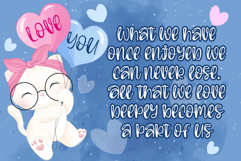 Beauty Angel - Bouncy Handwritten Font example image 2
