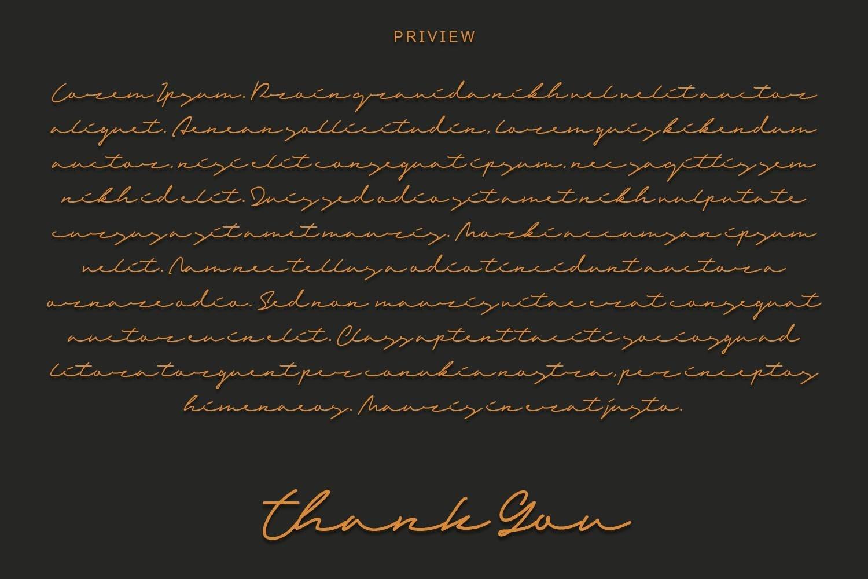 Sandreas - Luxury Signature Font example image 8