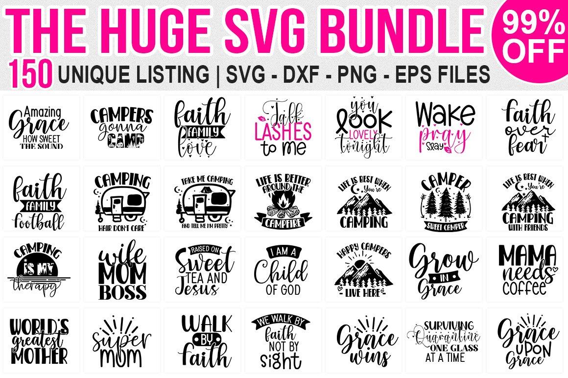 650 Designs | Massive Bundle,The Huge SVG Bundle,Big Bundle example image 3