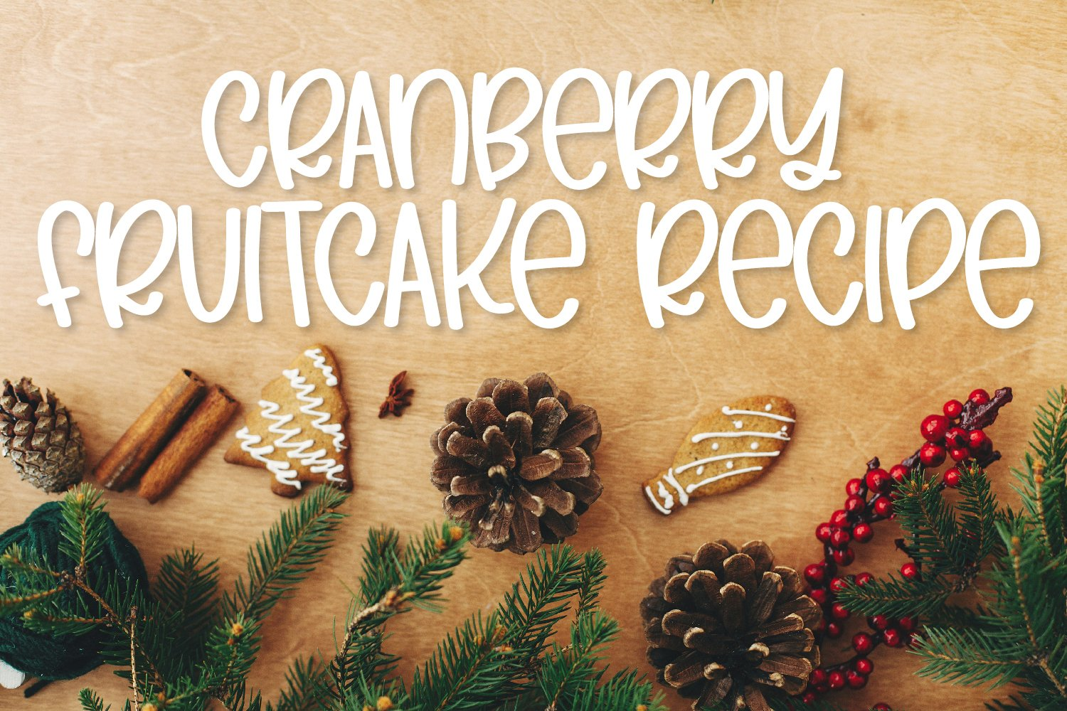 Whole Fruitcake - A Silly Marker Font example image 6