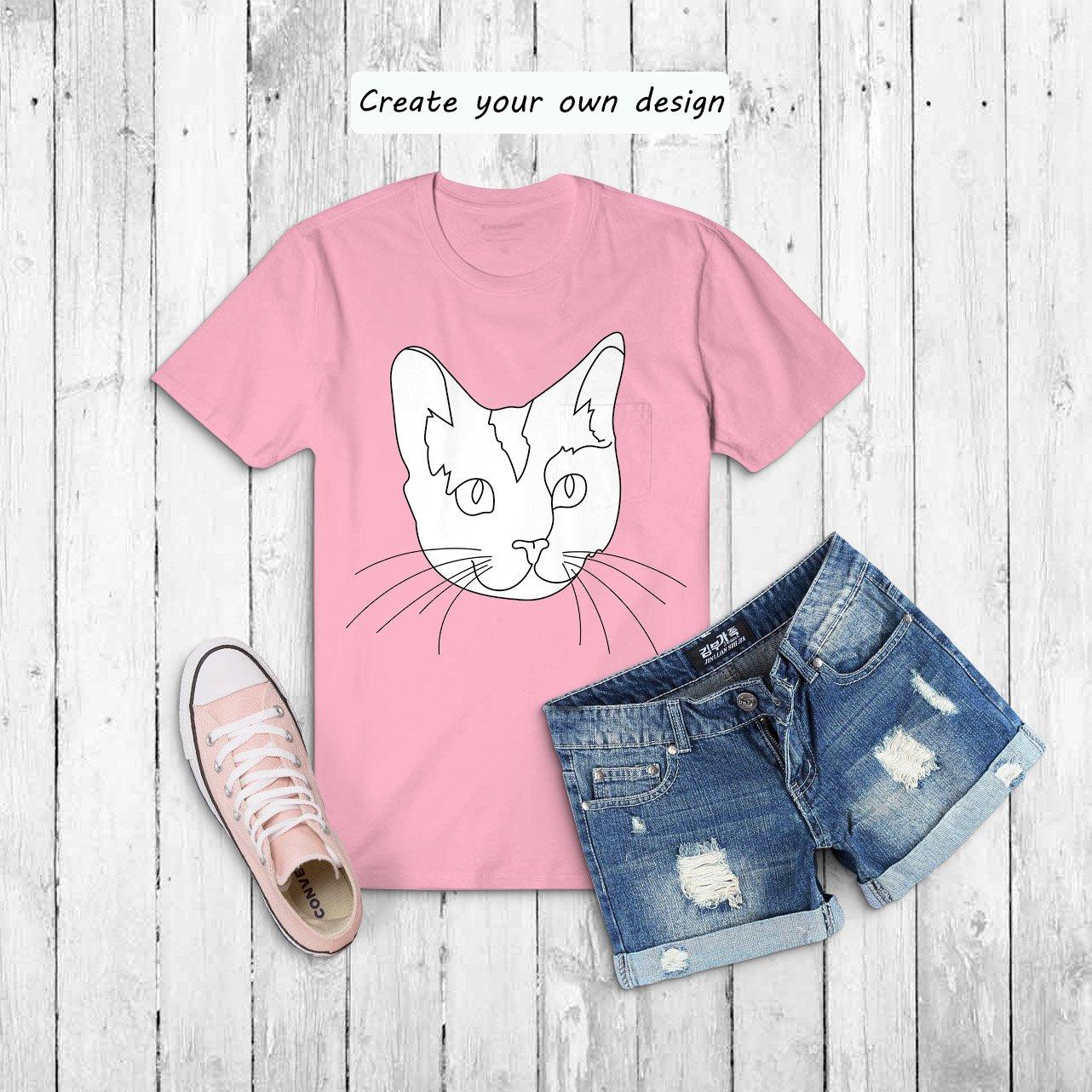 Cat Outline Sublimation Design - Modern Line Art example image 10