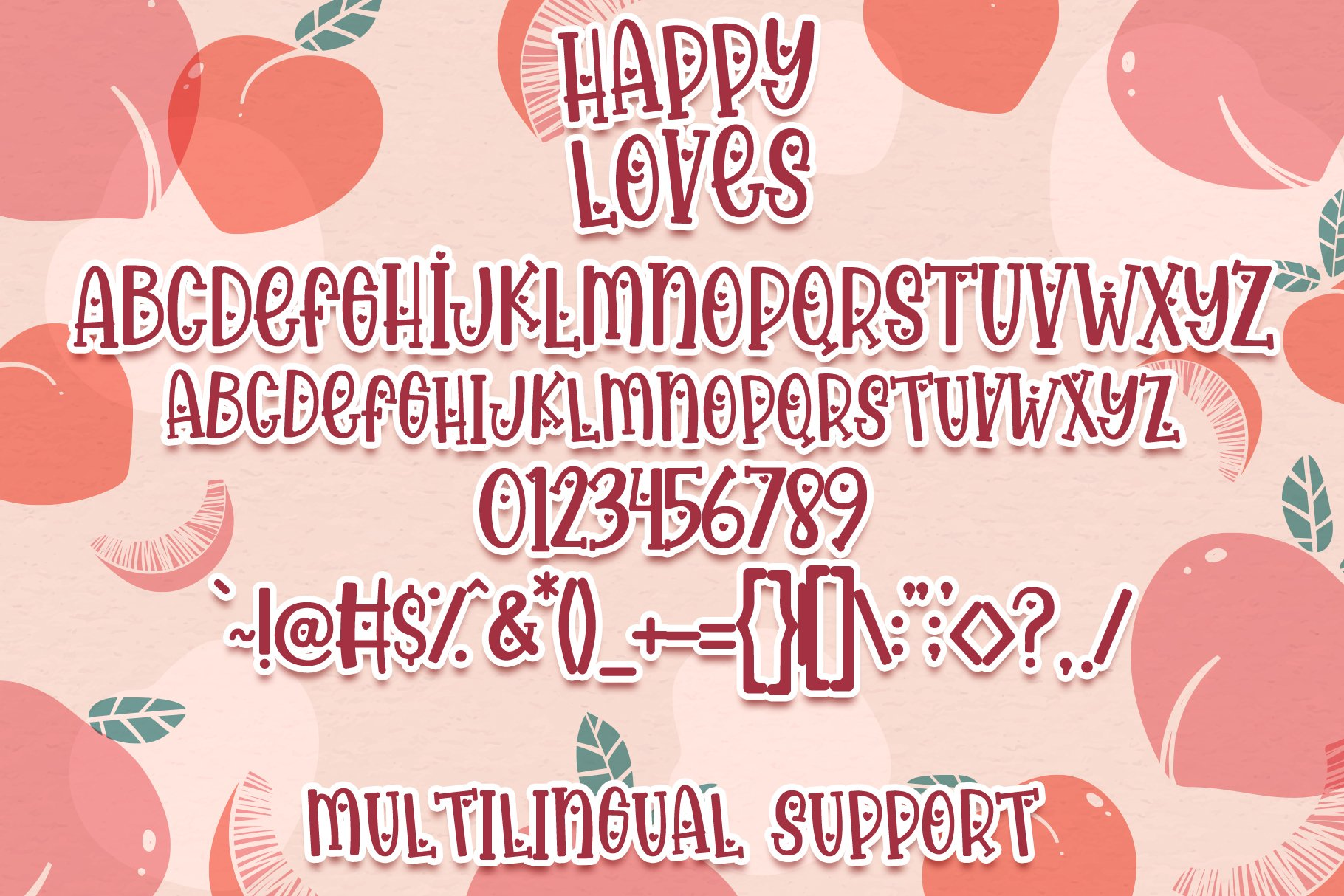 Happy Loves - Lovely Handwritten Font example image 8