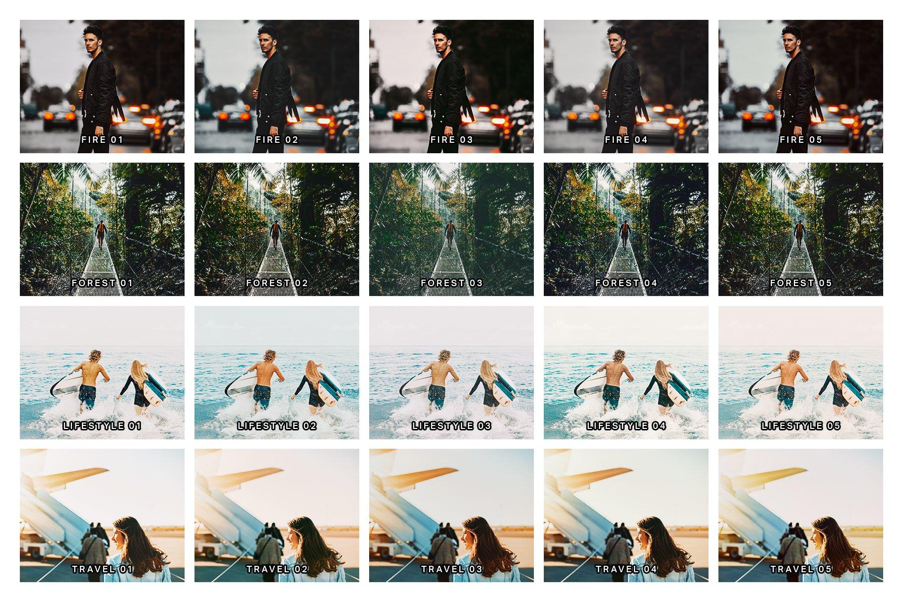 Travel Influencer Starter Kit - 20 Lightroom Presets example image 8