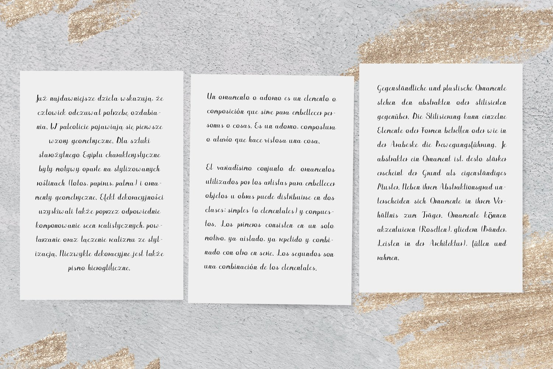 Edredon Font example image 4