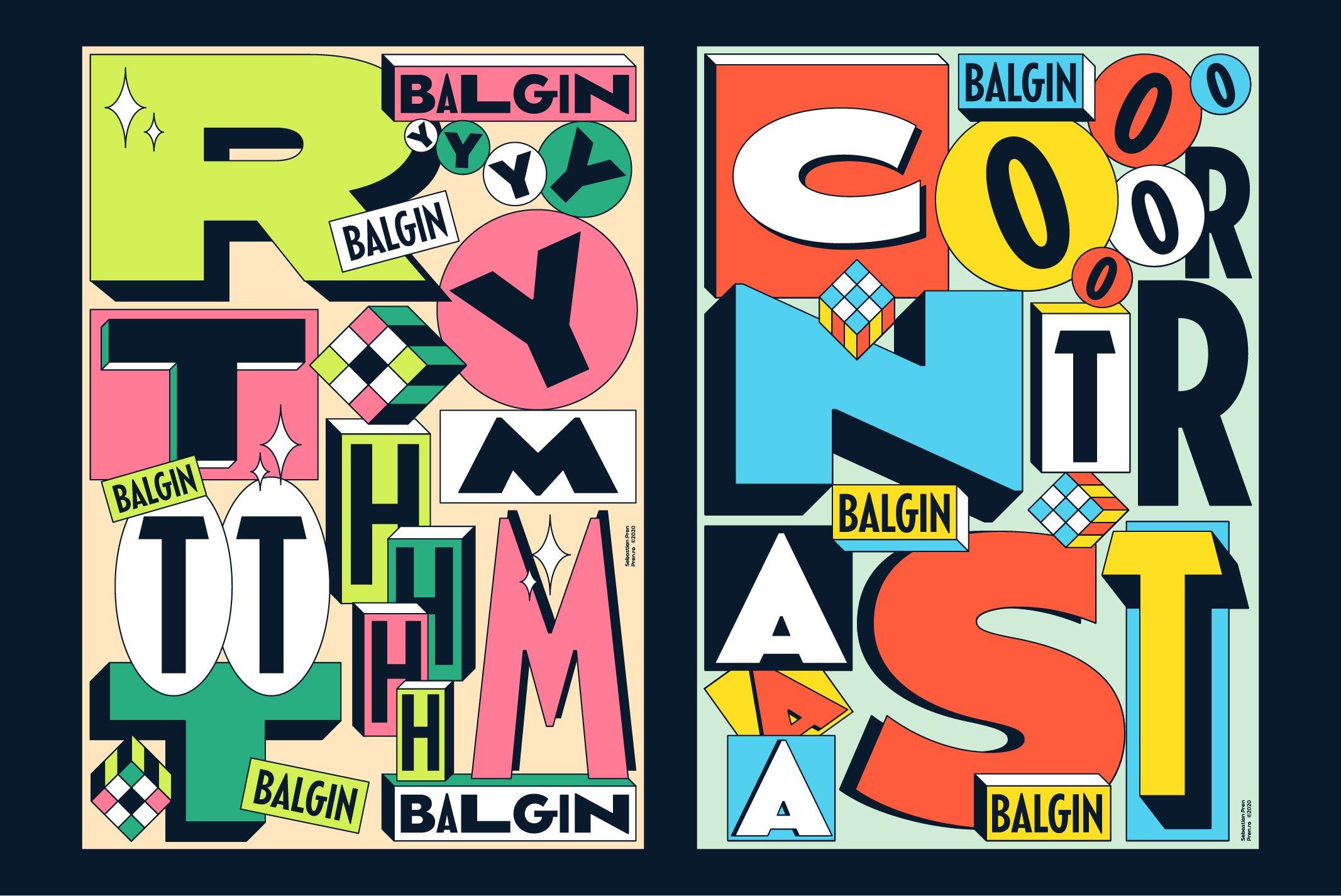 Balgin Font Family example image 17
