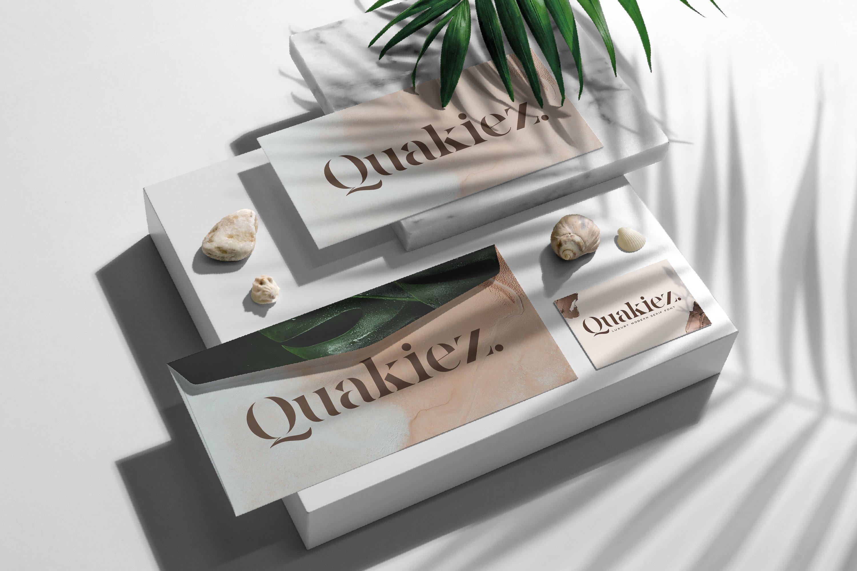 Quakiez - Luxury Modern Serif example image 2