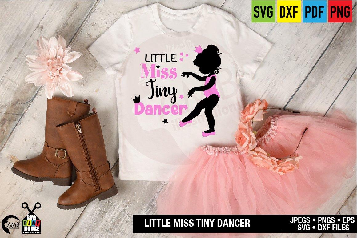 Ballerina Silhouettes Svg Little Miss Tiny Dancer Sph 123 302804 Svgs Design Bundles
