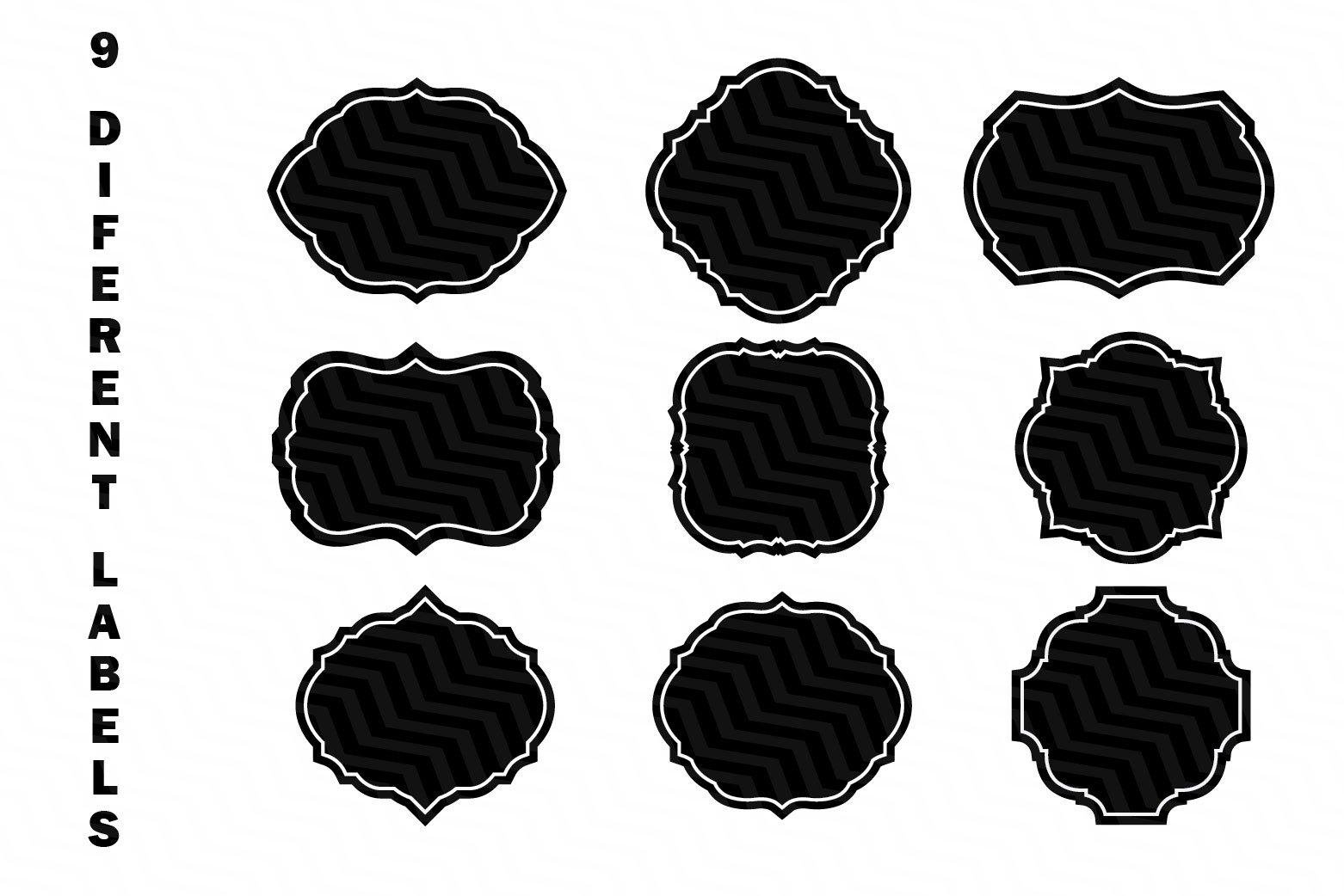 47 Kitchen Labels Bundle SVG example image 4