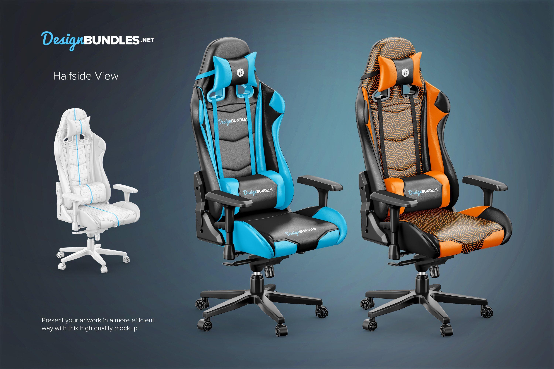 Gaming Chair Mockups example image 3