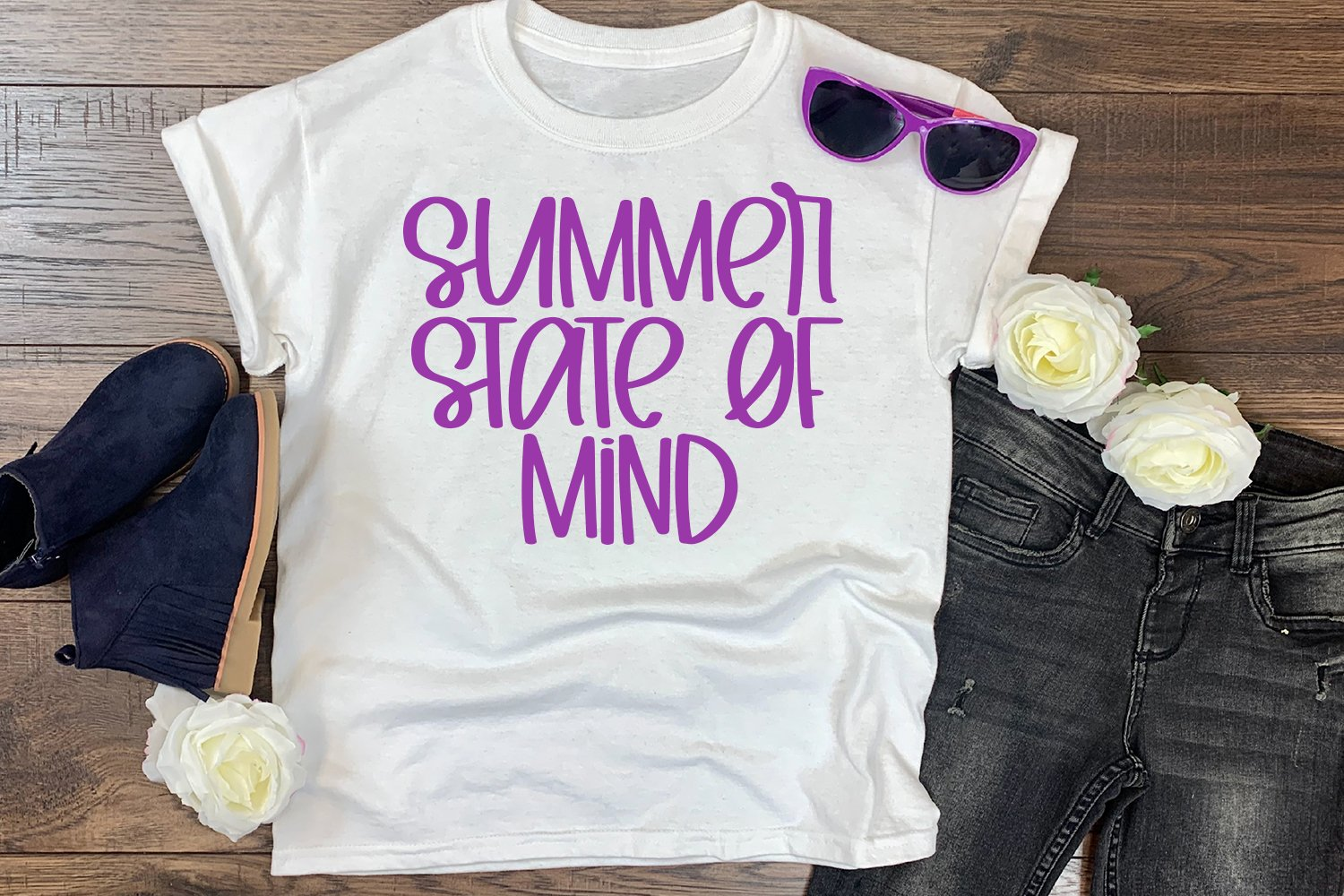 Summer Siesta - A Summery Hand-Lettered Font example image 4