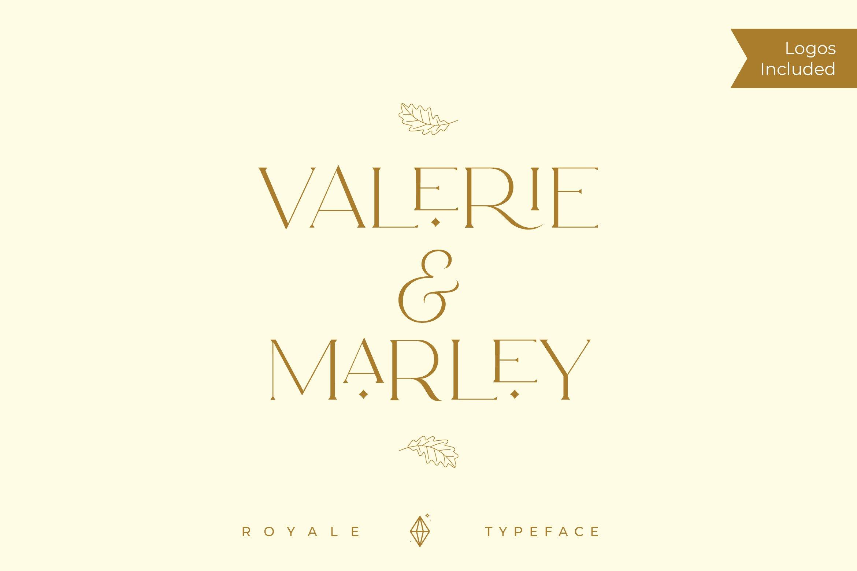 Royale Luxurious Typeface example image 13