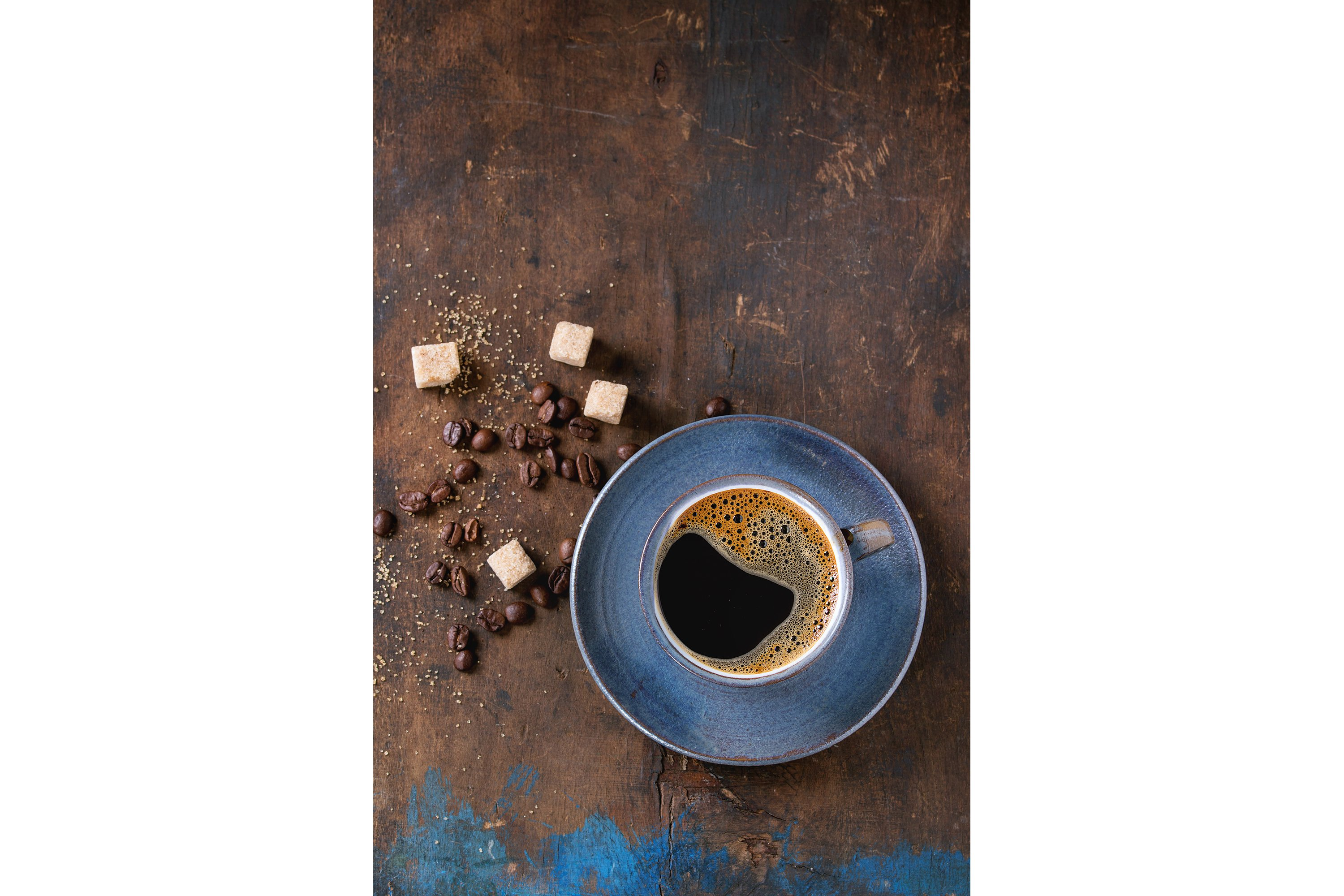 Cup of black coffee example image 1