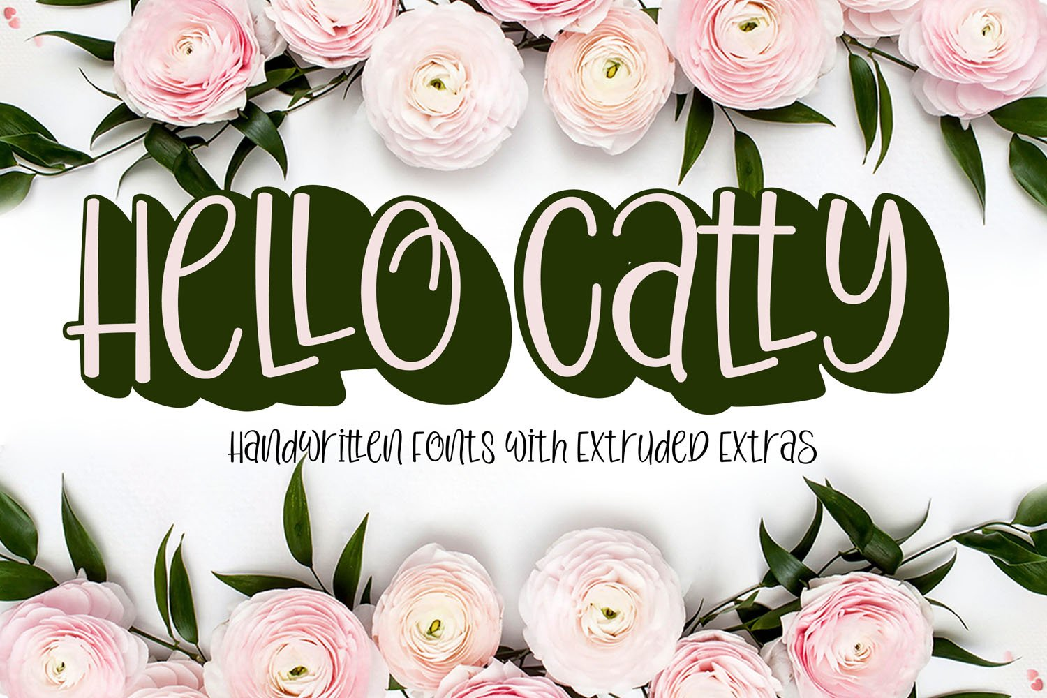 Hello Catty With extruded extras example image 1
