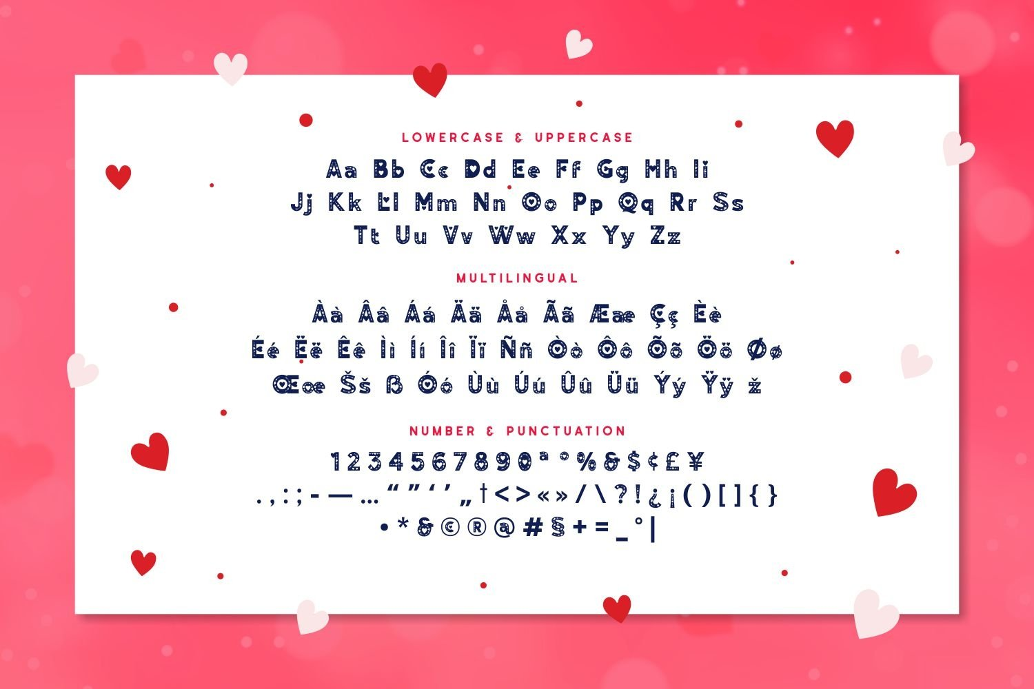 Lovely Cupid - Lovely Display Typeface example image 5