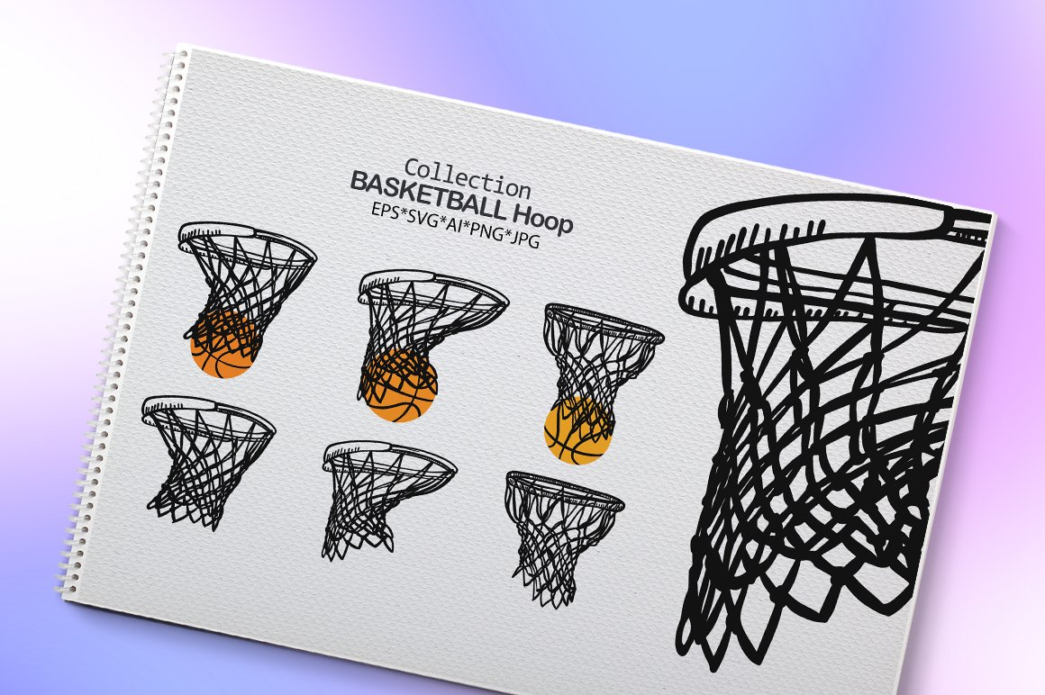 Collection Basketball Hoop example image 2