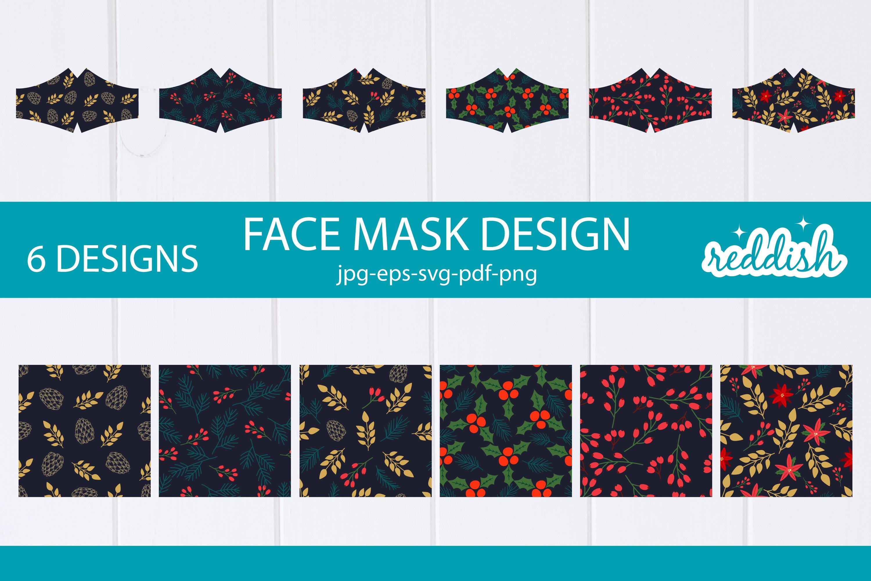 6 Face Mask Design 6 Mask Svgs And 6 Patterns Designs 856288 Fabric Crafts Design Bundles