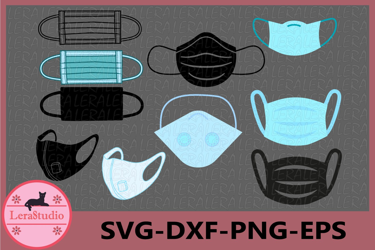Face Mask Svg Hospital Medical Mask Svg Respirator Mask 541612 Svgs Design Bundles