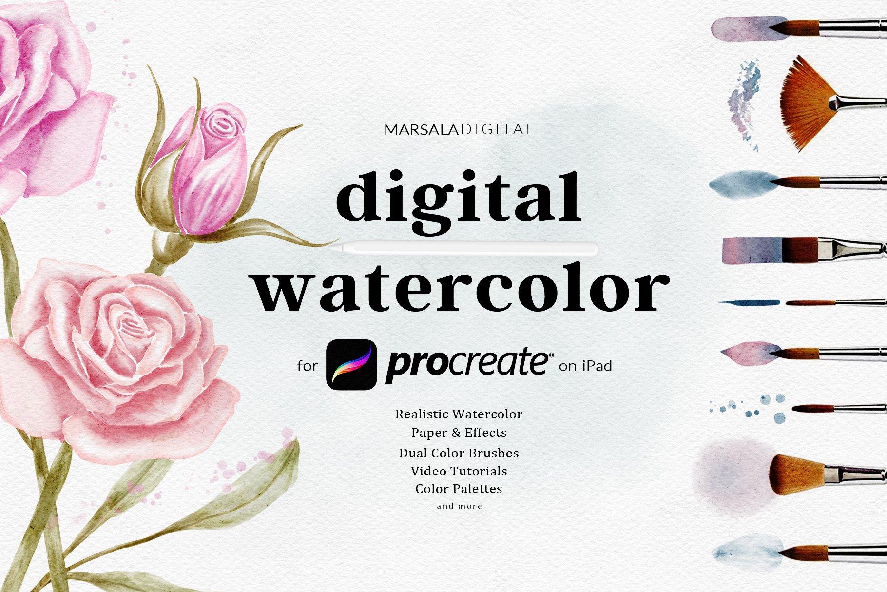 Peonies Procreate Color Palette  Spring Flower Colors  Procreate Floral Palette  Watercolor Flowers  iPad Art  Digital Swatches