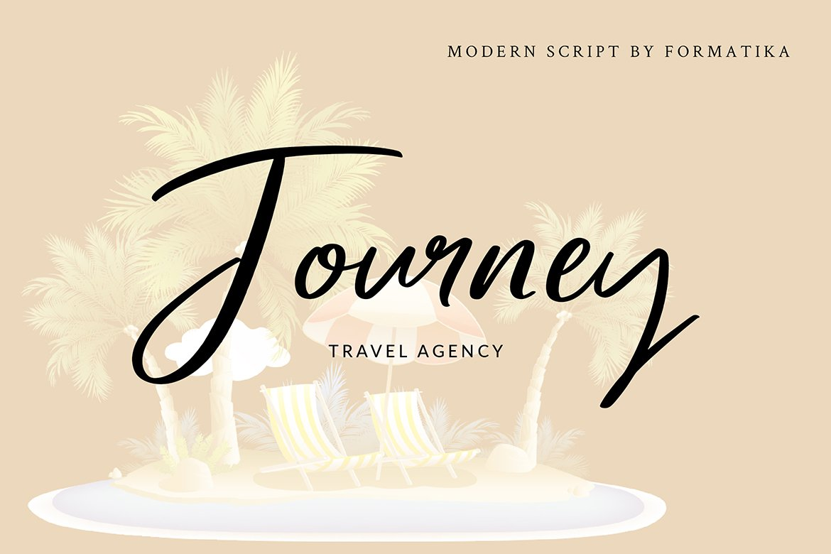 Mellany Modern Script Font example image 3