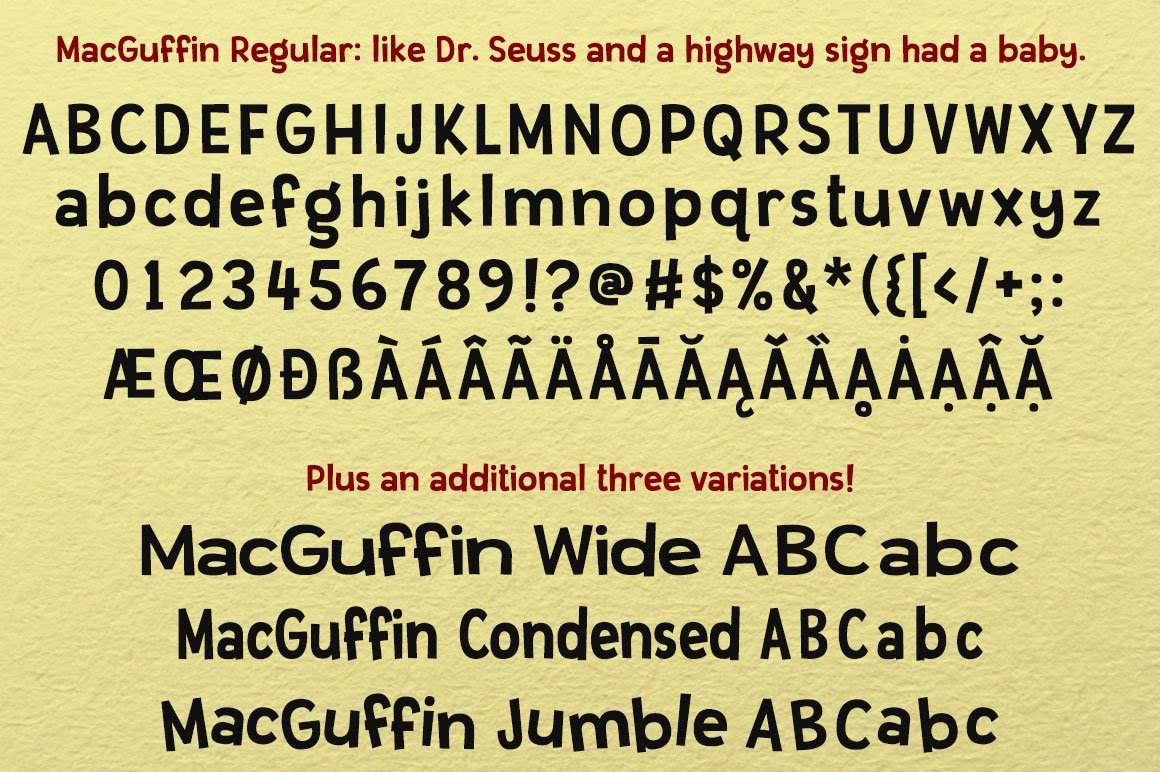 The Newbie Crafter Font Bundle - 8 fun & smooth families! example image 13