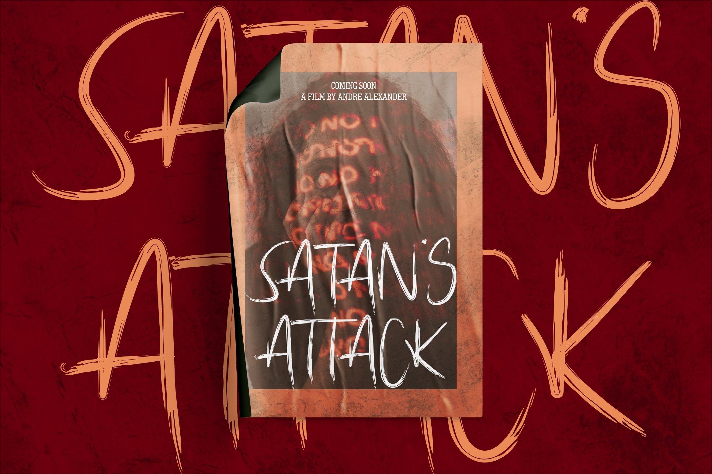 Afterlife - Brush Horror Font example image 5