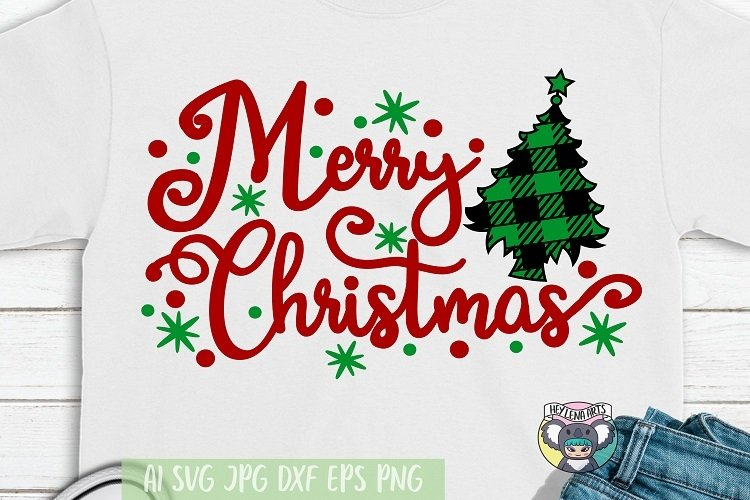 Merry Christmas Svg Christmas Tree Svg Santa Svg Cut File 987081 Cut Files Design Bundles