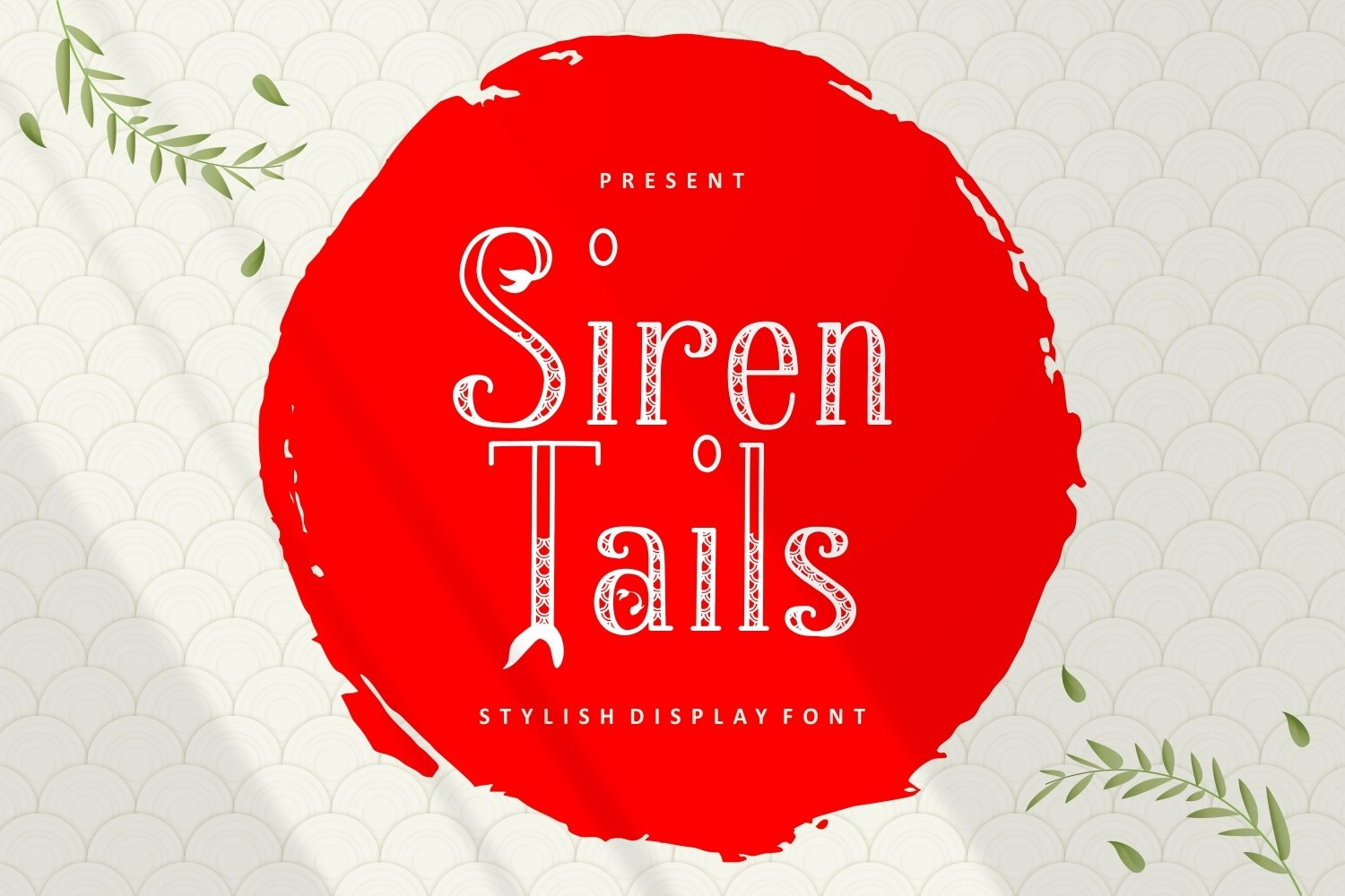 Siren Tails - Stylish Display Font example image 1