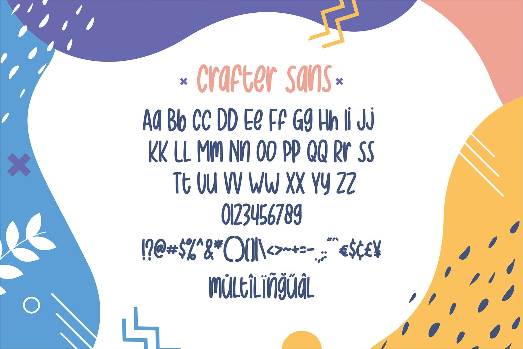 Crafter Font Duo - Best Seller example image 5