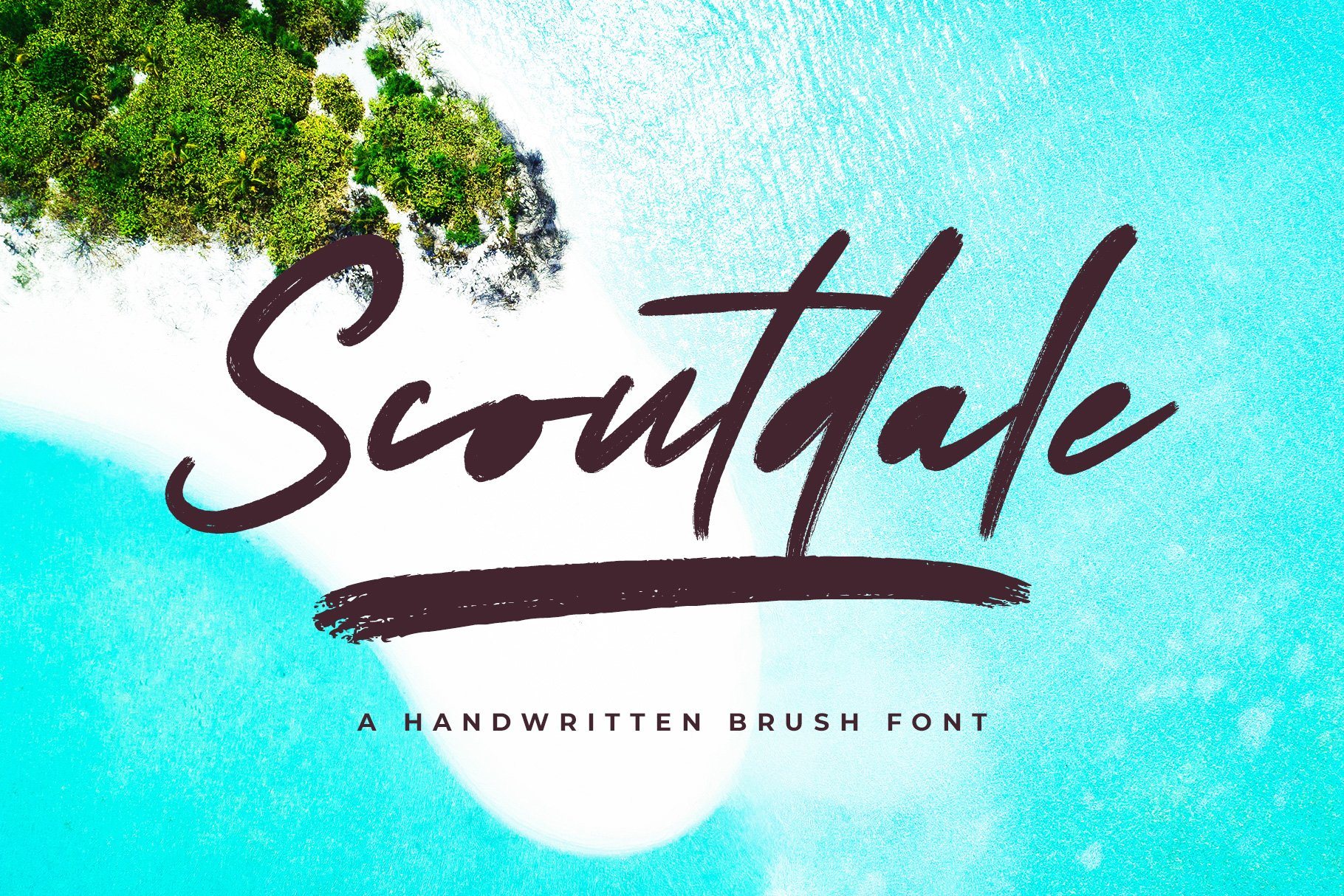 Scoutdale | Handwritten Brush Font example image 1