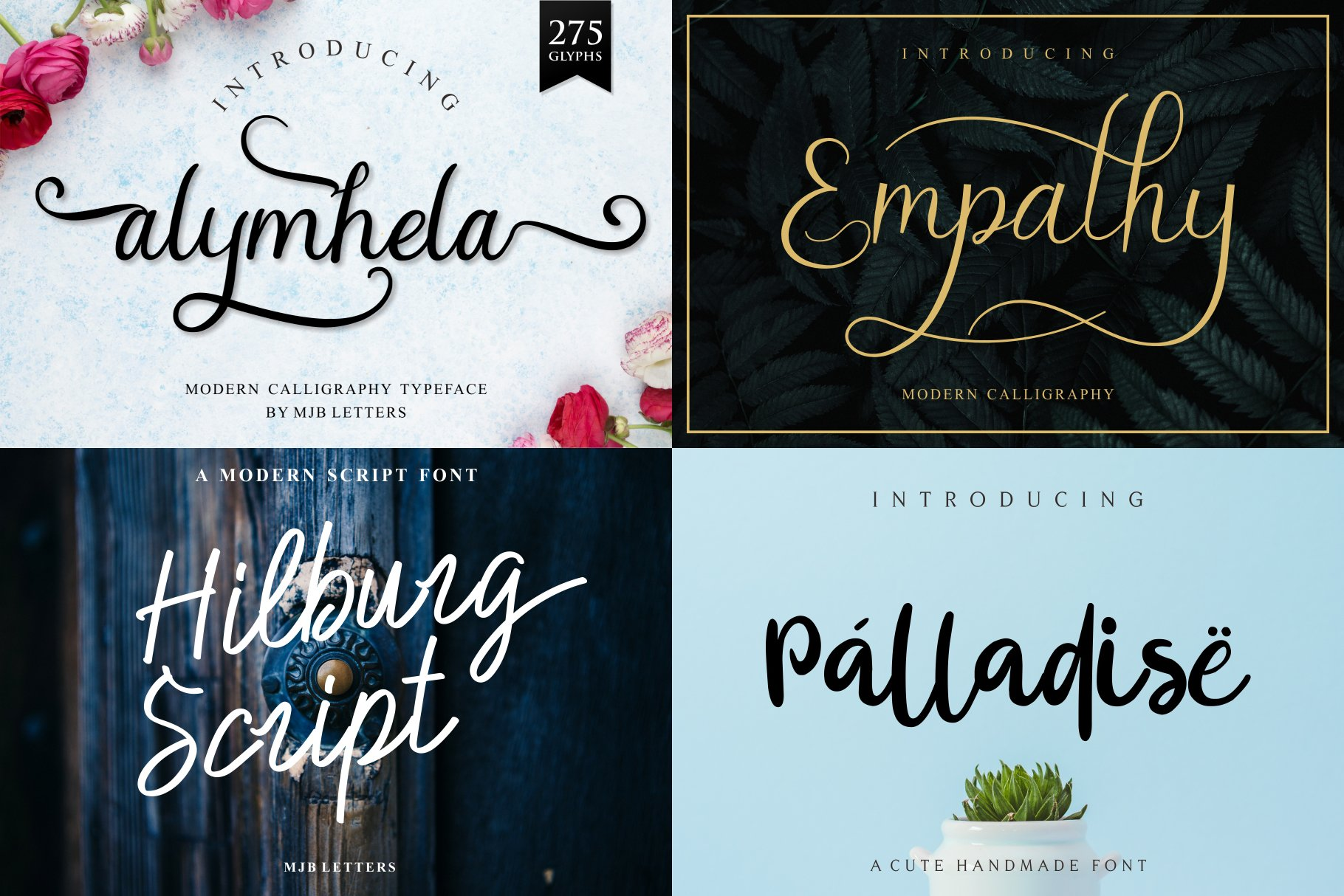 BIG BUNDLE - BEST FONT COLLECTIONS example image 14