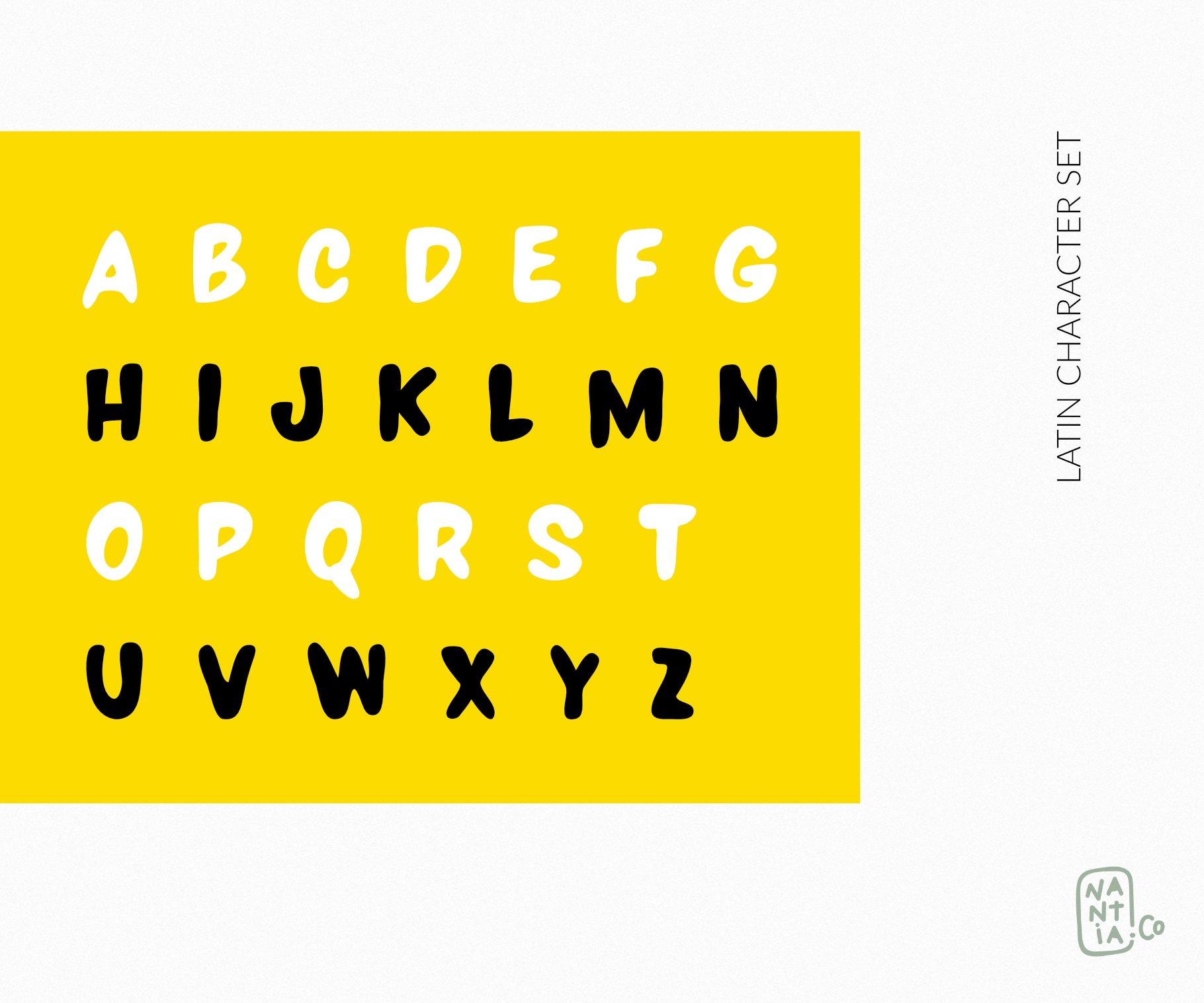 LALOU Greek Latin Chubby Font example image 2