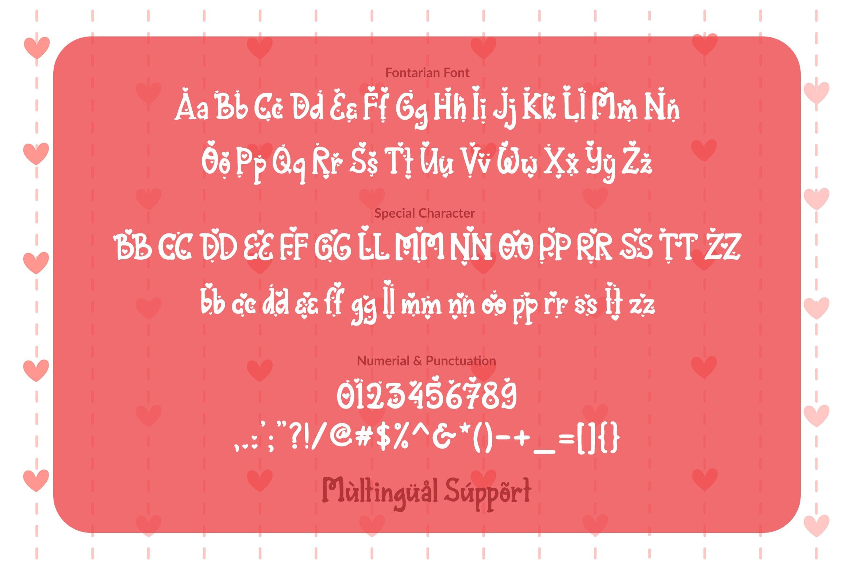 Fontarian Sweet Heart example image 3
