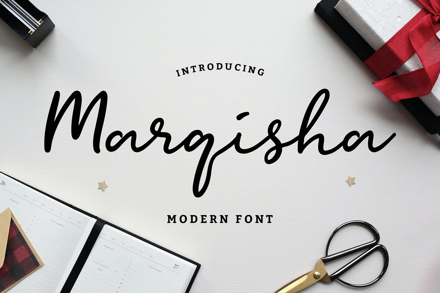 Marqisha Modern Script Font example image 1