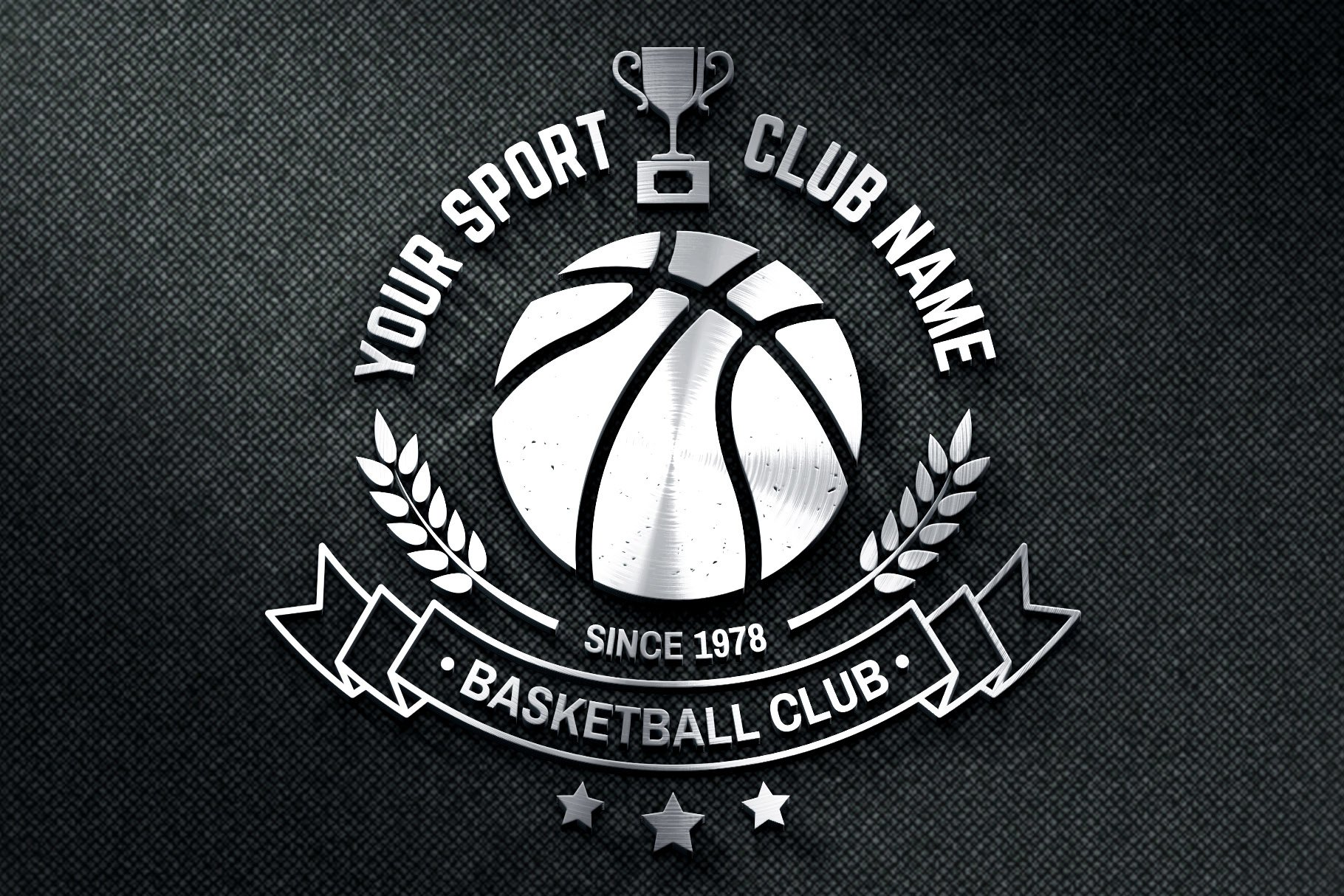 Basketball Club Badges and Labels example image 5