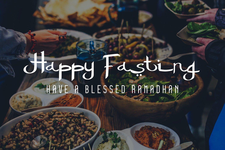 Islamic Romance - Arabic Fauxlang Font Duo example image 13