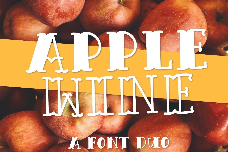 Fall Font Bundle - 23 Cut Friendly Fonts! example image 2