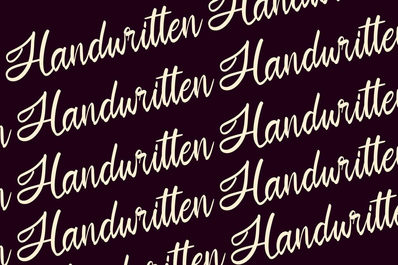 Sandiaga | Modern Script Font example image 2