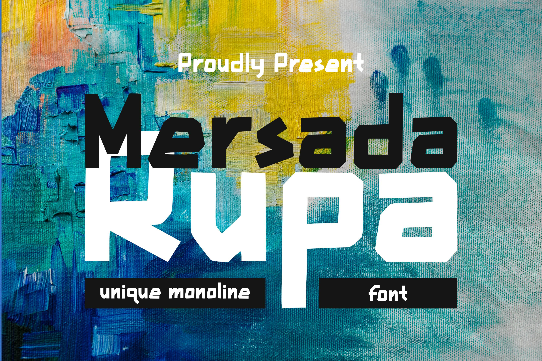 Mersada Rupa Font example image 1