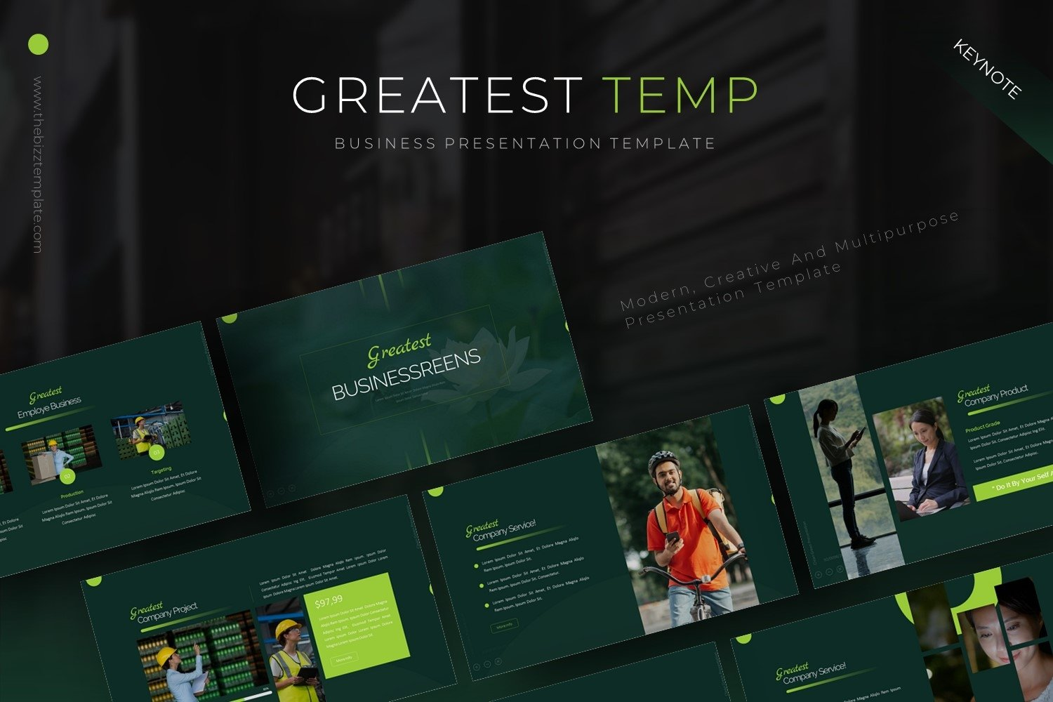 Greatest - Keynote Template example image 1