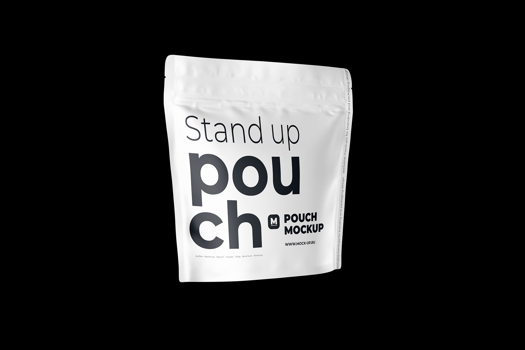 Zip Stand-up Pouch Mockup square example image 8