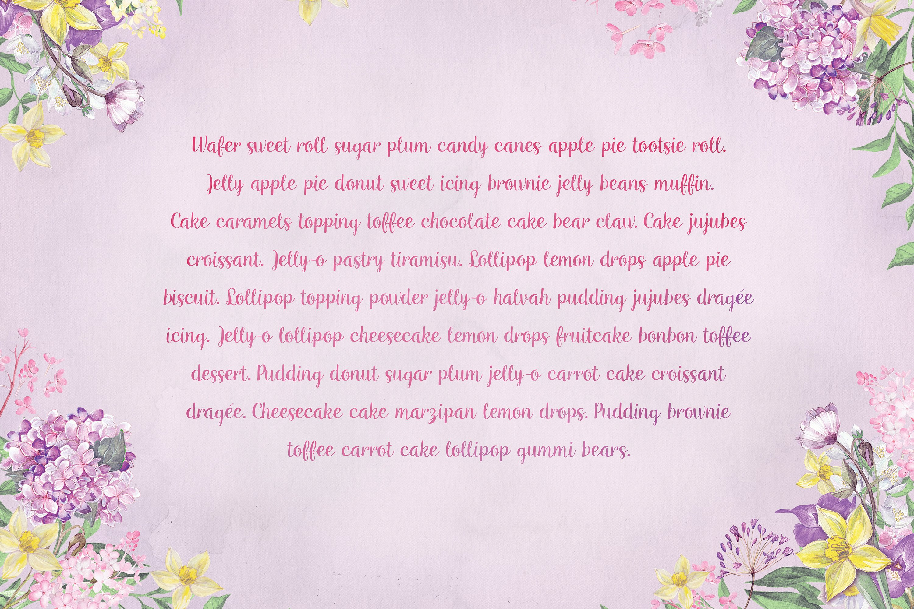 Mianowicie font example image 3