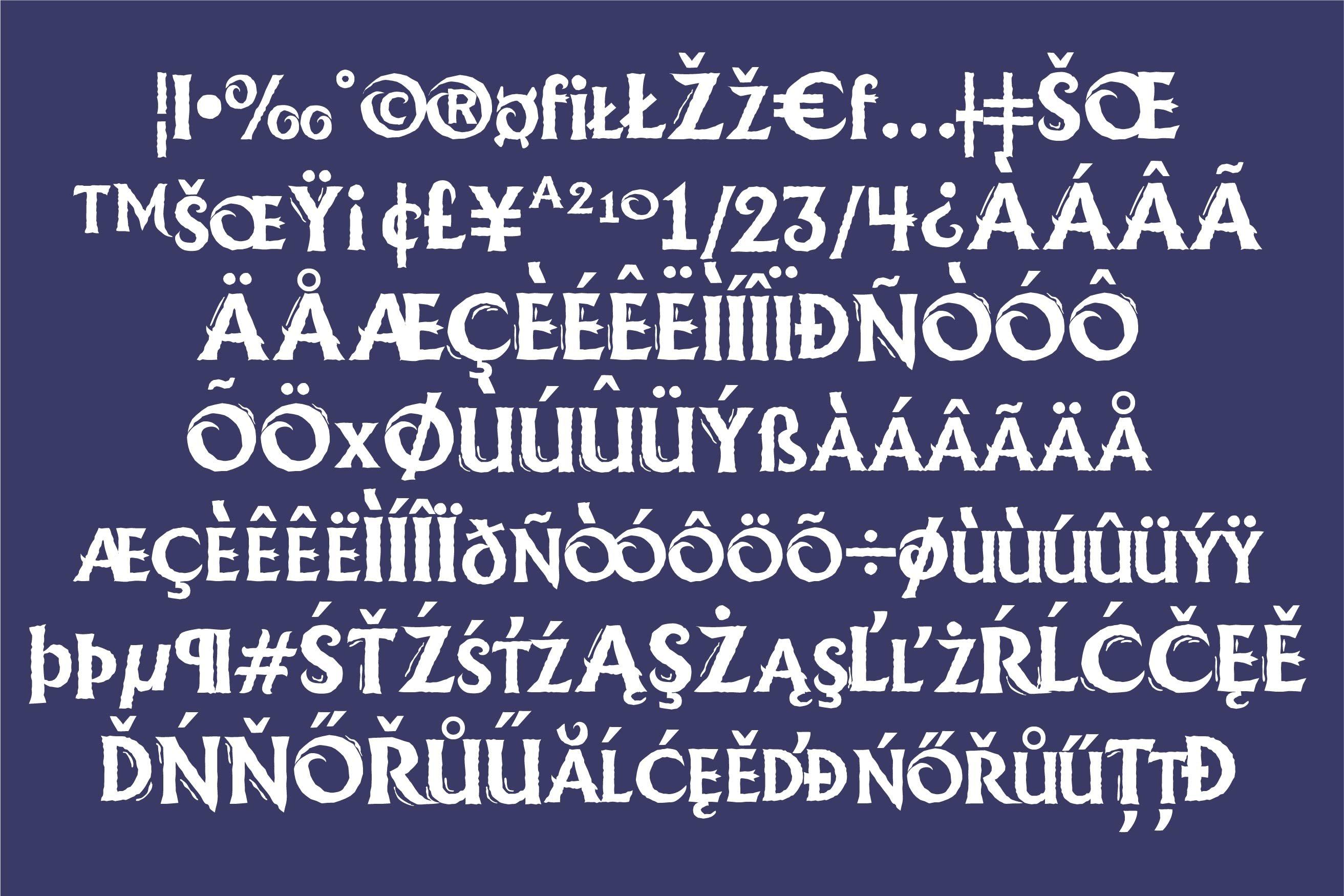 LD Ice Princess Font Duo example image 8