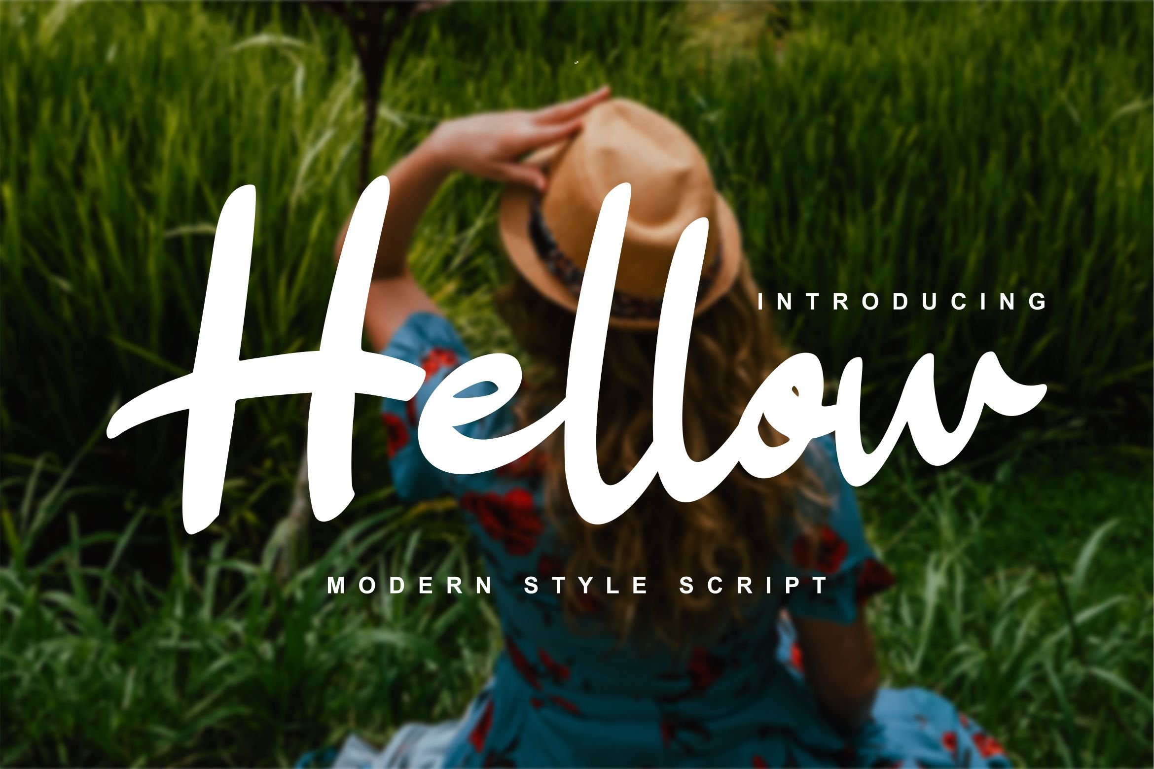 Hellow | Modern Style Script Font example image 1