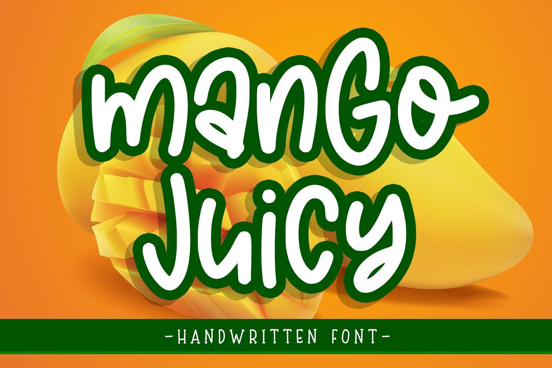 mango juicy example image 1