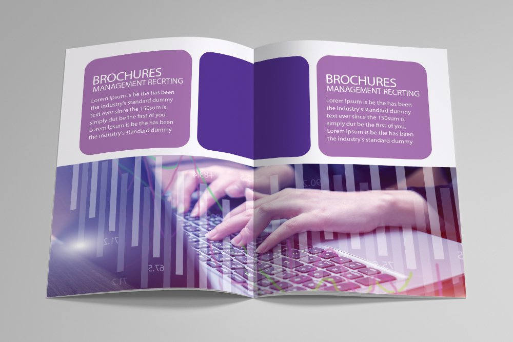Business Catalogue Bifold Brochure 16 Pages example image 7