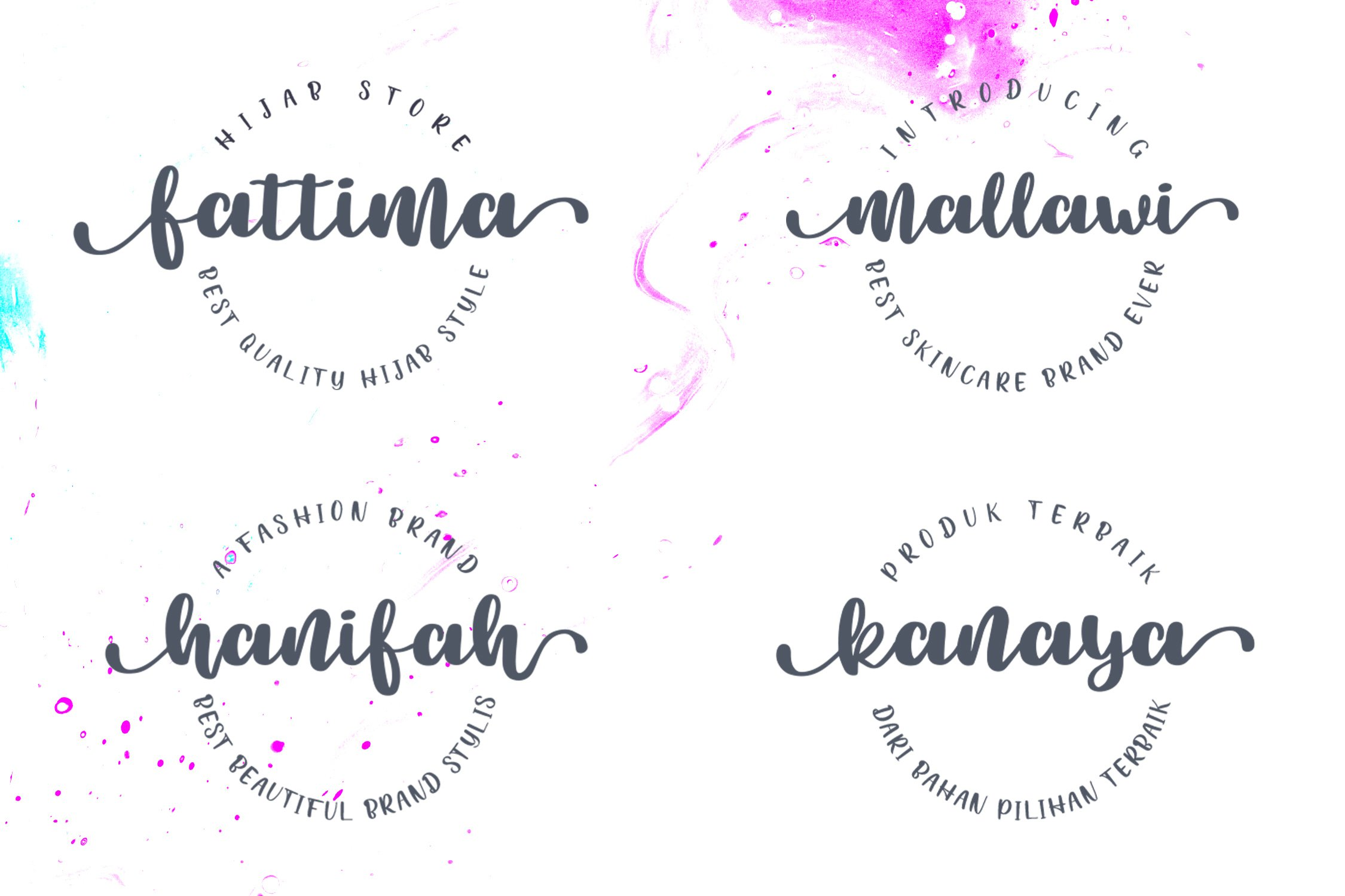 Beauty Chatti Script Font example image 7