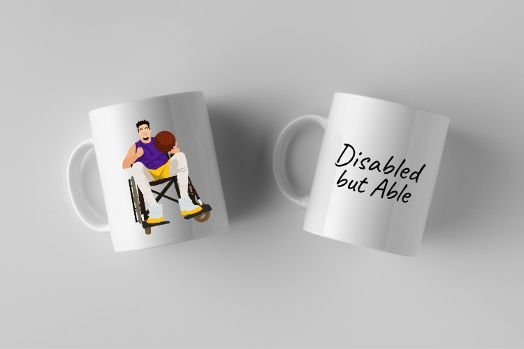 Disabled but Able Vector Illustration example image 2