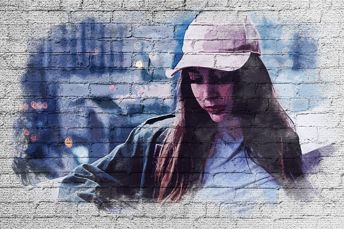 Wall Paint FX for Adobe Photoshop example image 4